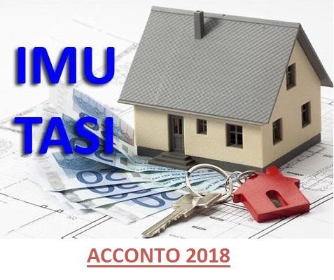Acconto imu tasi 2018 non dovute per la prima casa for Imu per prima casa